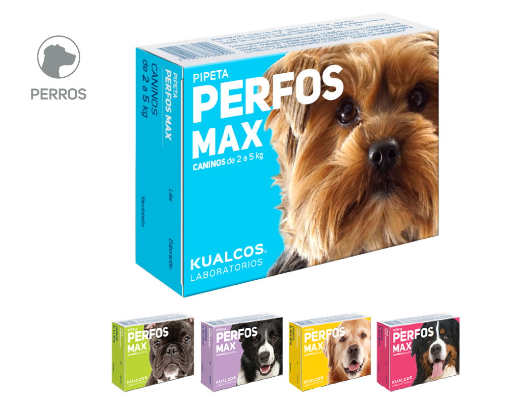 Pipeta Perfos Max Caninos 2 a 5 Kg.